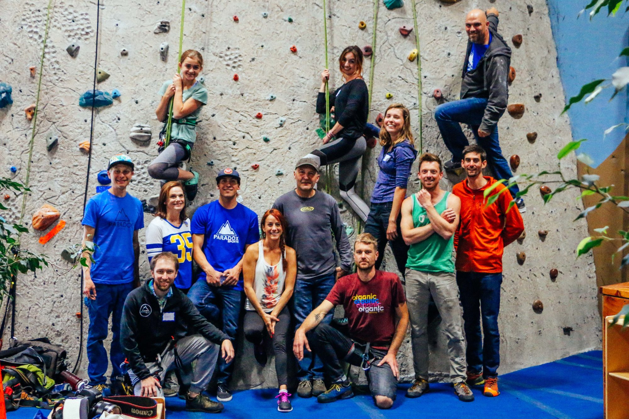 ACI Course at Sanctuary Rock Gym in CA Group Photo