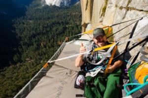 Enock Glidden in Yosemite