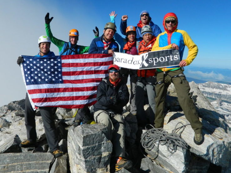Grand Teton Veterans Trip 2014 Group Photo