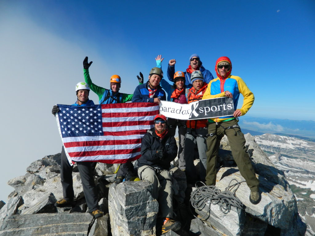 Group Photo of Grand Teton Veterans Trip in 2014