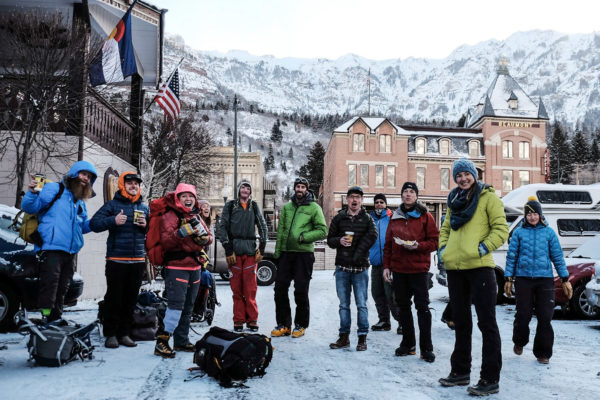 Ouray Trip 2017 Group Photo in Downtown Ouray