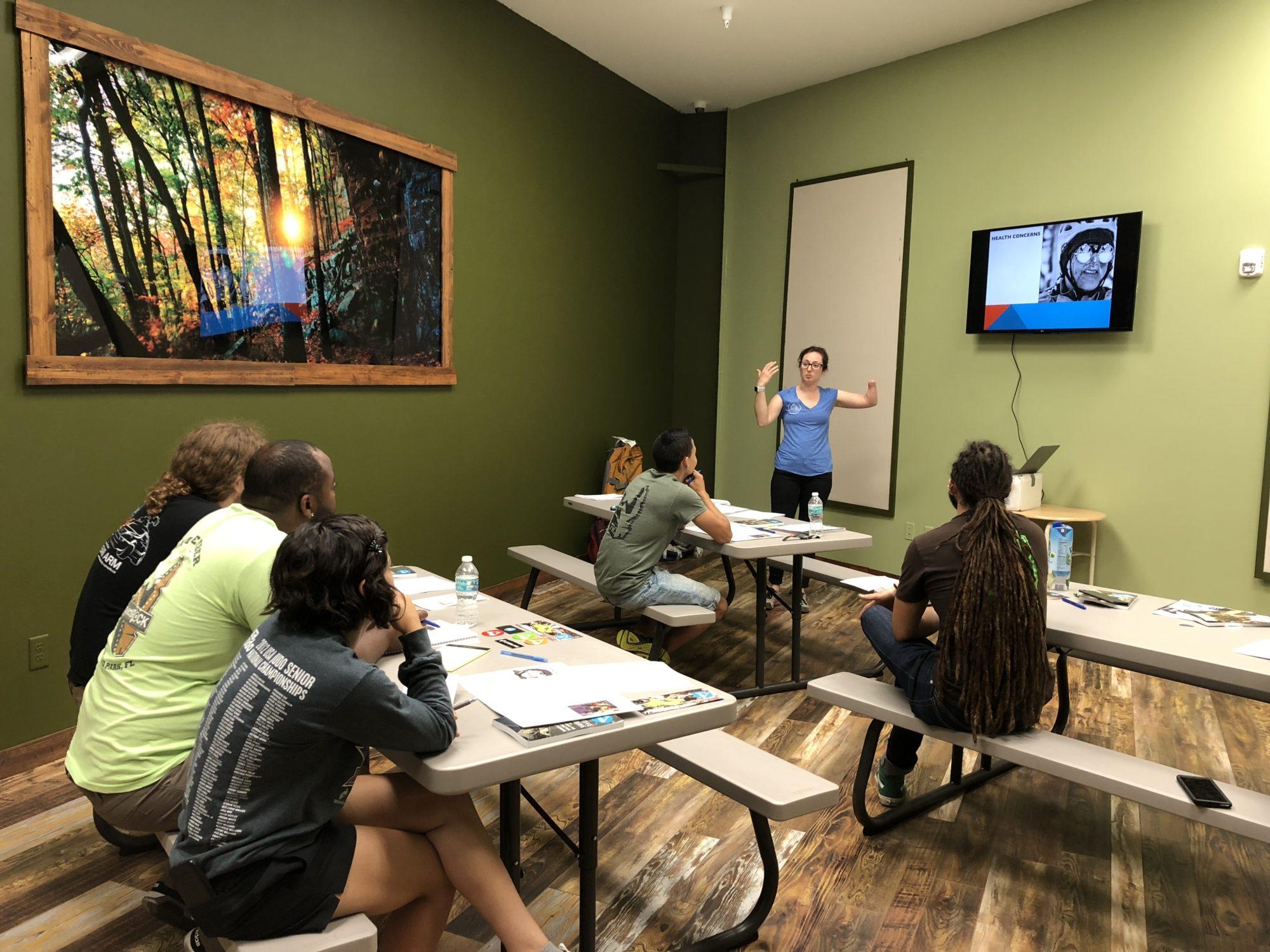 Maureen Beck Teaching ACI Course