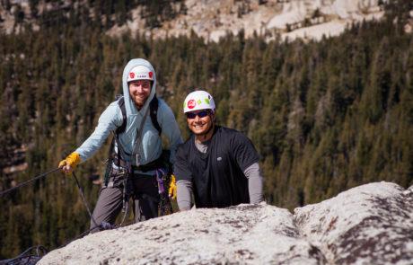 Climbers on Yosemite Trip in 2017