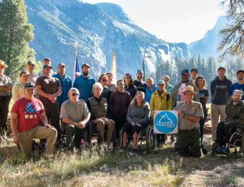 Yosemite Veterans Climb Commemorating 9/11