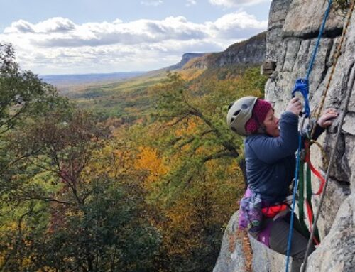 Concepts to challenge community: A history of gear in the Gunks