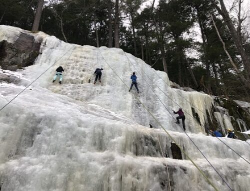 Ice Climbing in the Northeast